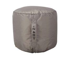 pouf rond d50 x h40 cm tilt taupe poufs poires but. Black Bedroom Furniture Sets. Home Design Ideas