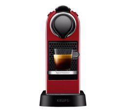 KRUPS Expresso à capsule Nespresso YY2731FD Citiz rouge