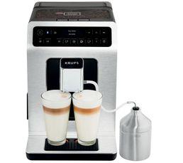 Un large choix de cafés riches en arômes ou de boissons lactées à la mousse onctueuse Un écran OLED tactile hyper intuitif Utilisez la fonction Dark pour obtenir un espresso encore plus robuste et intense Pot à lait inclus Puissance en Watts : 1450 Nombre