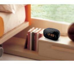 Radio réveil Tuner PLL FM MUSE  M-150CR Double Alarme