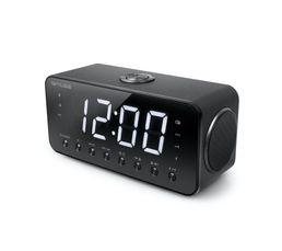 Radio réveil Tuner FM MUSE M-192CR Double Alarme
