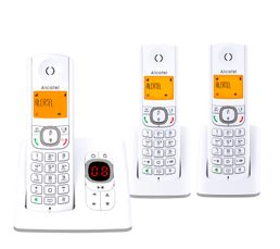 27564748884c91 Téléphone sans fil répondeur ALCATEL F530 Voice Trio - Téléphone ...
