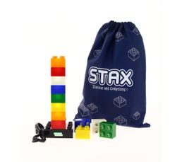 Objet lumineux STAX 12 CUBES Multicolor