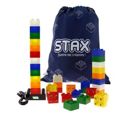 Objet lumineux STAX 36 CUBES Multicolor