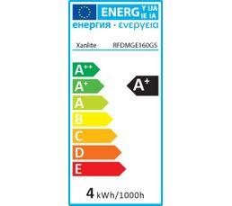Ampoule déco medium LED 2W équiv 27W 280lm E27 Transparent
