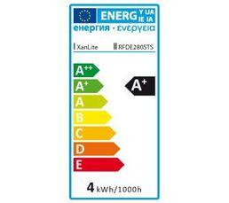 Ampoule déco LED 3W équiv 28W 300lm E27 Transparent