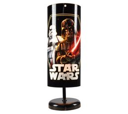 STAR WARS Lampe de chevet Noir