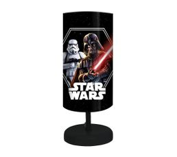 STAR WARS Lampe de chevet Noir/rouge