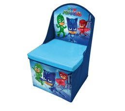 Chaise pliable rangement PYJAMASK Bleu