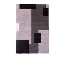 TETRIS Tapis 100x150 cm Gris