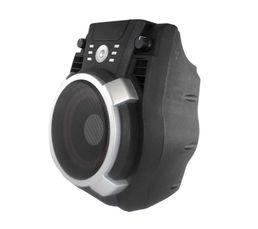 Bluetooth Réglage Echo, Bass et Treble Batterie Lithium Type enceinte : Enceinte nomade bluetooth karaoke Bluetooth : Oui Télécommande : Oui Dispo pcs détachées donnée fournisseur : Aucune Port USB : Oui Garantie : 2 ans pièces, main d'oeuvre Entrée auxil