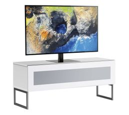 Meuble TV L.120 cm NAPOLI Blanc