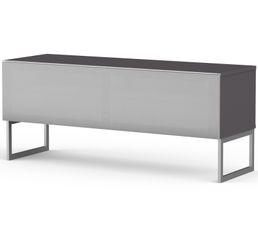 Meuble TV L.120 cm MODENA Gris