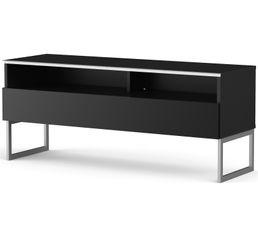 Meuble TV L.120 cm GENOVA Noir