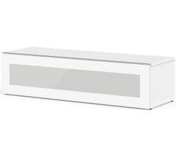 Meuble TV L.120 cm MEMPHIS Blanc