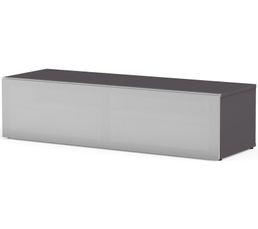 Meuble TV L.120 cm PHILADELPHIE Gris