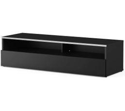 Meuble TV L.120 cm MIAMI Noir