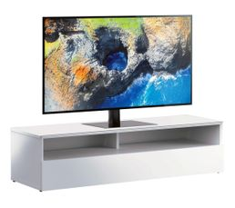 Meuble TV L.120 cm MIAMI Blanc