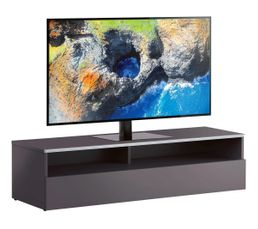 Meuble TV L.120 cm MIAMI Gris