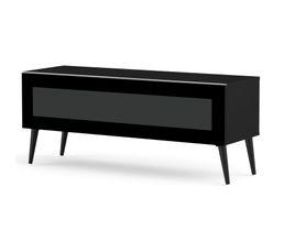 Meuble TV L.120 cm SOLNA Noir