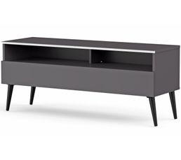 Meuble TV L.120 cm NACKA Gris