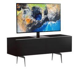 Meuble TV L.120 cm CANBERRA Noir