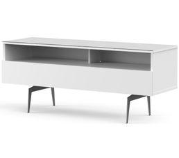 Meuble TV L.120 cm VERONA Blanc