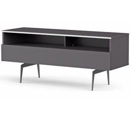 Meuble TV L.120 cm VERONA Gris
