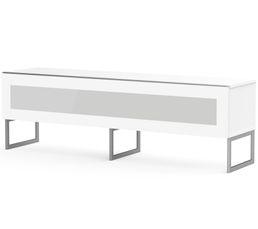 Meuble TV L.160 cm NAPOLI Blanc