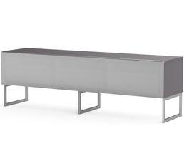 Meuble TV L.160 cm MODENA Gris