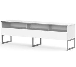 Meuble TV L.160 cm GENOVA Blanc