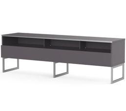 Meuble TV L.160 cm GENOVA Gris