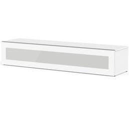 Meuble TV L.160 cm MEMPHIS Blanc