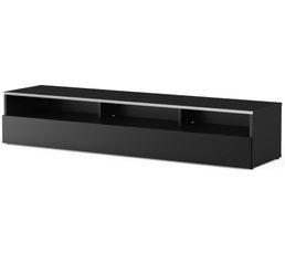 Meuble TV L.160 cm MIAMI Noir