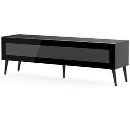 Meuble TV L.160 cm SOLNA Noir