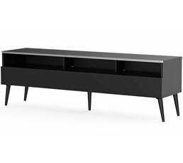 Meuble TV L.160 cm NACKA Noir