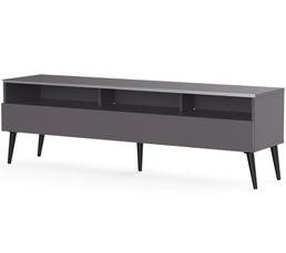 Meuble TV L.160 cm NACKA Gris
