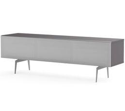 Meuble TV L.160 cm CANBERRA Gris