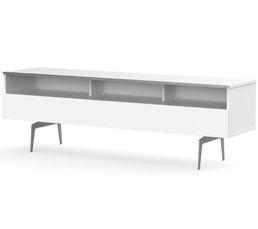 Meuble TV L.160 cm VERONA Blanc