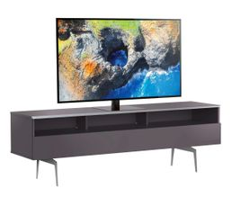 Meuble TV L.160 cm VERONA Gris
