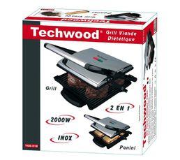 Grille viande TECHWOOD TGD-018