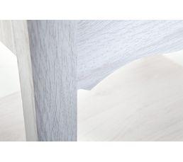 Chevet 1 tiroir 1 niche JULIETTE chêne blanc