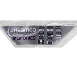 Matelas 140x190 cm DREAMEA MEMORIES