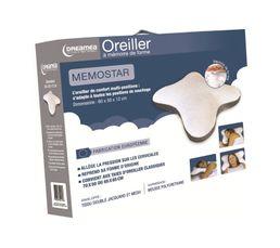 DREAMEA Oreiller 60x50x12 cm Memostar