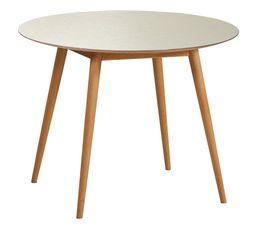 Table ronde TEMOE dorée
