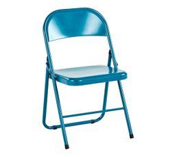 Chaise pliante TELIO Bleu canard