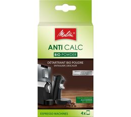 MELITTA Détartrant ANTI CALC BIO 4x40 g
