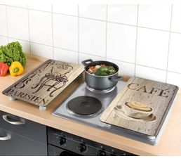 Protection plaque de cuisson WENKO 2521310100 CAFE