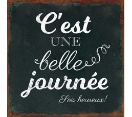 JOURNEE Deco sign 20x20 Noir