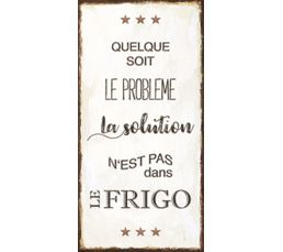 Deco sign 40x20 FRIGO Beige